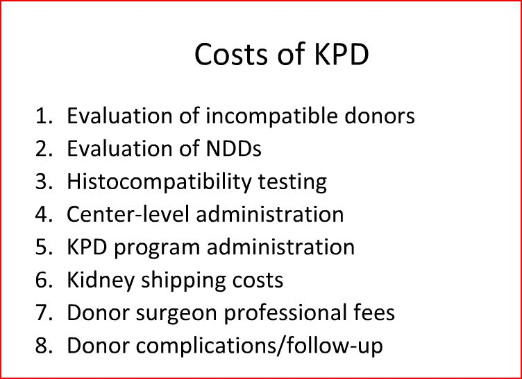 KPD costs